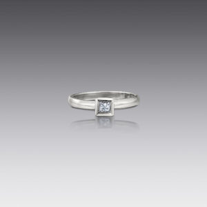 Metro Princess Diamond Ring