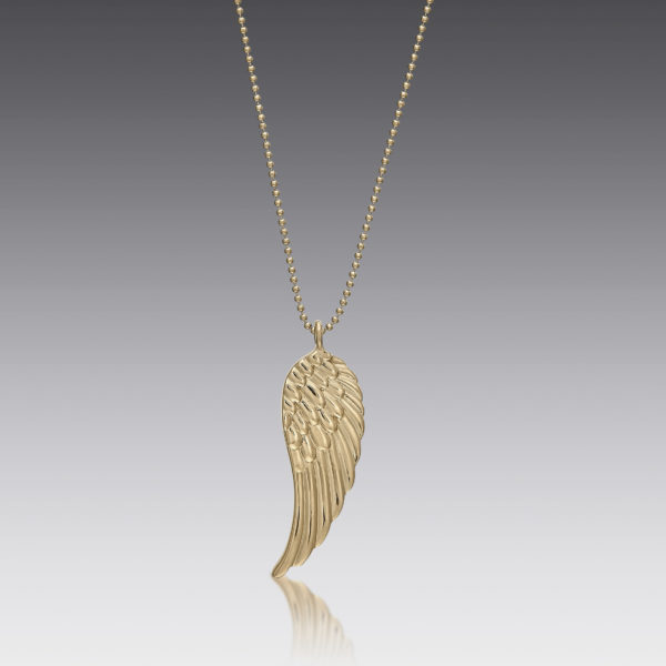 Ava Gold Wing Necklace