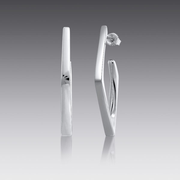 Edge Geometic Earrings