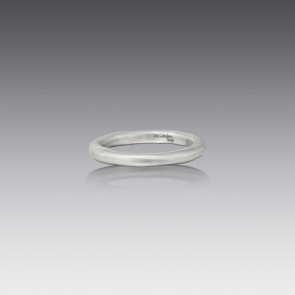 Wave White Gold Ring