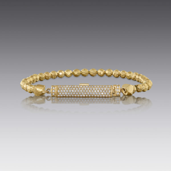 Baubles Beaded Pavé Diamond Bracelet