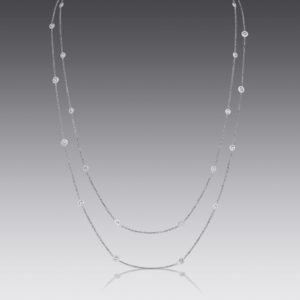 Majesty Diamond-By-The-Yard Necklace