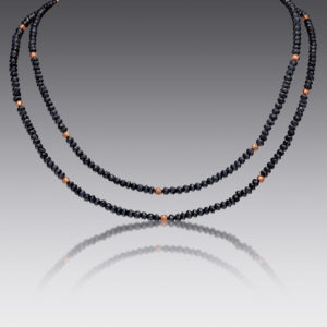 Baubles Black Diamond Beaded Necklace