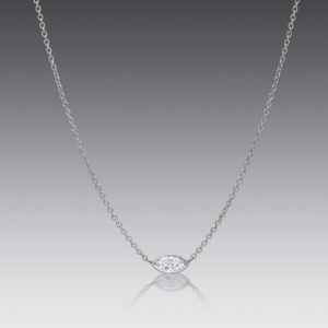 Cherish Marquise Diamond Necklace