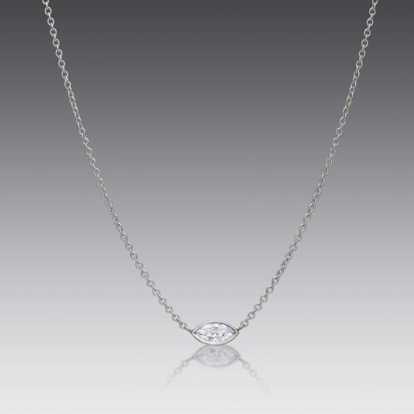 Cherish Marquise Diamond Necklace