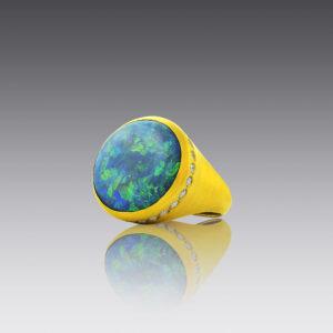 Opal Opulence Ring