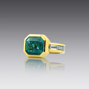 Emerald Elegance Ring